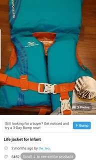 Flash sale: infant swim wear and life jacket bundle