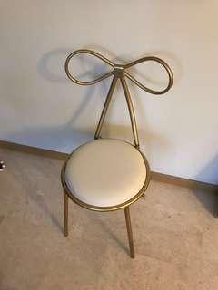 [in-stock!] Dressing Table Ribbon Chair