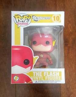 Funko Pop The Flash DC Universe Yellow Box