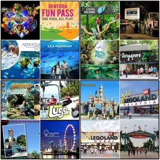 Singapore Attraction eTickets
