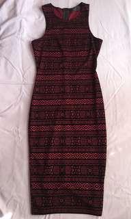 AX Paris Aztec Bodycon Dress