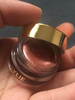 Kylie birthday rose gold creme shadow