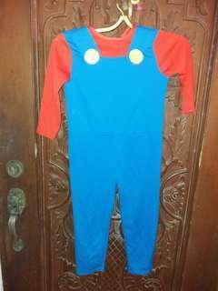 One piece super mario costume