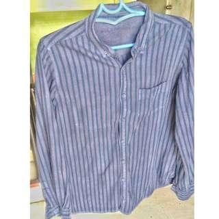 Reversible Striped Long Sleeves (UNISEX)