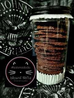 Brownies Brittle  @eats Madodo