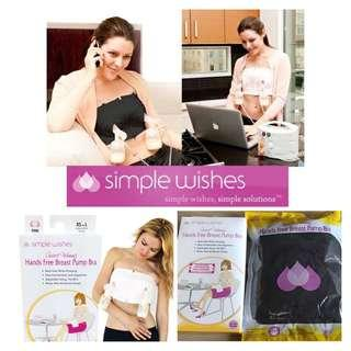 Simple Wishes Hands Free Breast Pump Bra  免提泵奶胸圍
