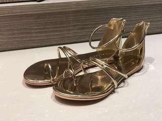 🚚 Air space金屬光感涼鞋(含運)