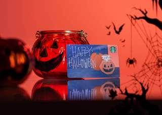 Starbucks Halloween Card 2018 - LIMITED EDITION