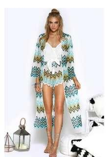 Seven wonders bnwt kimono