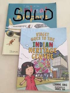 Stacy goes to Indian Heritage Centre book