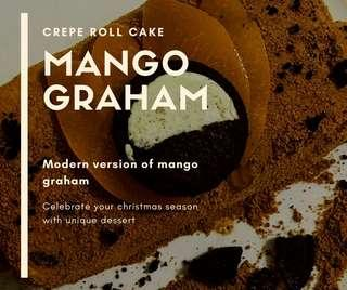 Mango Graham (Crepe Version)