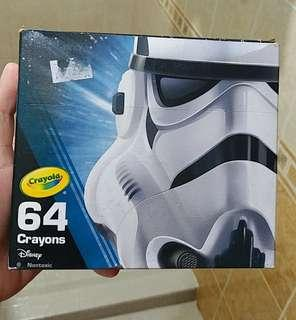 crayola 64 crayons collectible star wars
