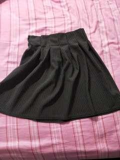 Mini skirt elastic band