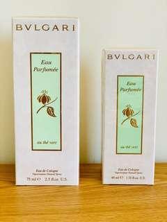 Bvlgari Eau Parfumee Au The Vert 綠茶 40/75ml