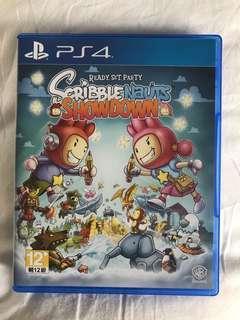 PS4 scribblenauts showdown game