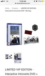 dan and phil interactive introverts vip limited dvd