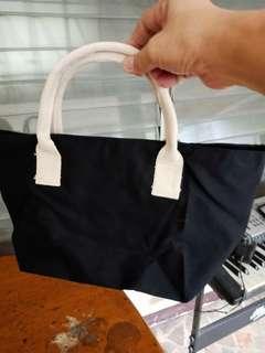 Small Black and White Handbag