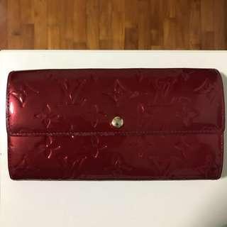 🚚 Authentic Louis Vuitton Monogram Vernis Wallet