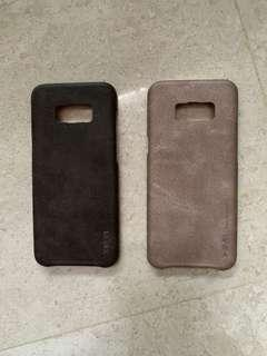 Samsung S8 Plus X Level leather cases
