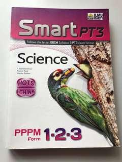 SMART PT3 Science Revision Guidebook (English) - PPPM Form 1, Form 2, Form 3