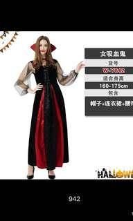 Halloween vampire costume 萬聖節女彊屍服裝