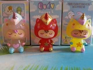 S> Quay Blind Box Series 2 Collectibles Figure Kik Unicorno Baby