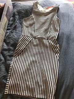 Striped Slim Fit Dress
