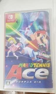 Switch game Mario tennis