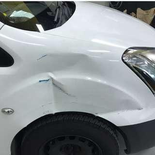 Accident Damage Repair/ Accident Claim/ Spray Painting/ Panel Beating/ Dent Removal