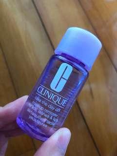 (包郵) Clinique Take The Day Off Makeup Remover For Lids, Lashes & Lips