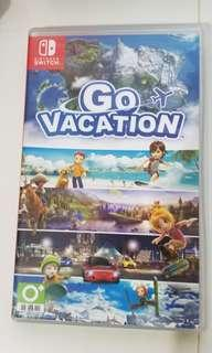 Switch game Go vacation