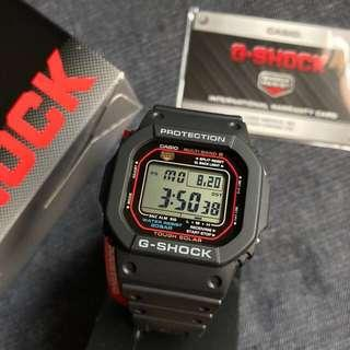 Legendary Casio G-Shock GW-M5610-1JF MULTI BAND 6 - Brand New