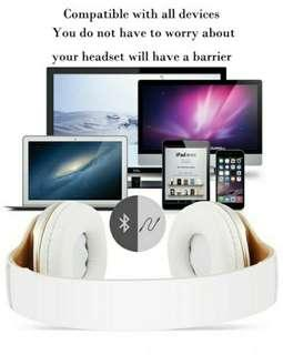 Brand New Wireless Bluetooth 4.0 Headphone Heavy Bass Stereo Folding With Mic Support, TF Card And Handsfree Phone Cl
