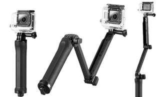 Mini camera tripod stand and selfie stick
