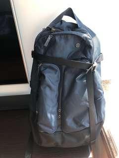 Lululemon navy blue backpack
