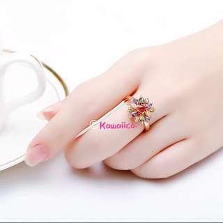 🚚 💎 Handmade Austrian Crystal Ring
