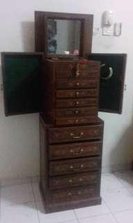 Vintage Chests of Drawer For Jewellery/Accessories