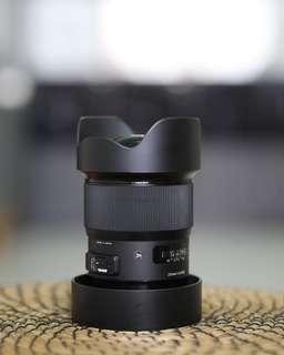 Sigma 20mm F1.4 Art Canon mount