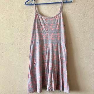 🚚 Cotton On Grey Pattern Dress