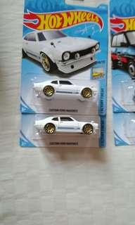 HotWheels Ford Maverick White
