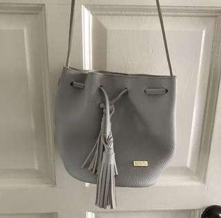 Bonita grey bucket sling bag