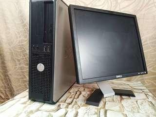 Dell Optiplex 780 Computer Set Ready to Use 1 month Warranty
