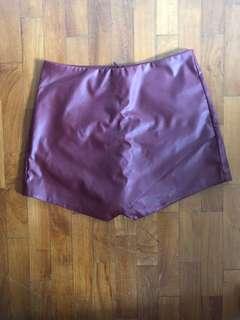 🚚 Leather Origami Skorts
