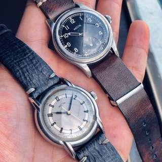 Vintage Recta 1940s Military watch