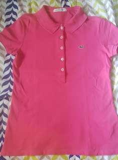 Original lacoste pique polo shirt