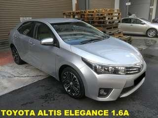 Toyota Altis Elegance 1.6a