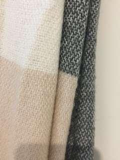 H&M Colorblock Scarves