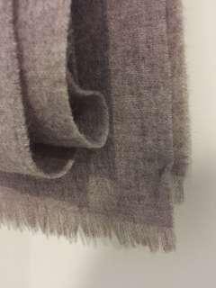 Wool Scarves in Taupe