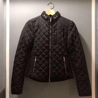 Zara (Size: XS) Women Winter Down Feather Jacket (Black)