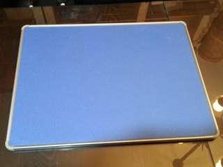 Garage Sale - Used FELTON Pin Board with Aluminium Frame, Size: 2' × 1.5'